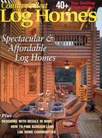 Best Country's Log Homes - July 2005
