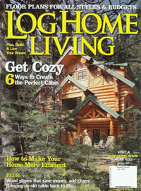 Log Home Living - Fall 2008